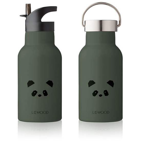 Liewood Liewood thermo drinkfles Anker Panda hunter green