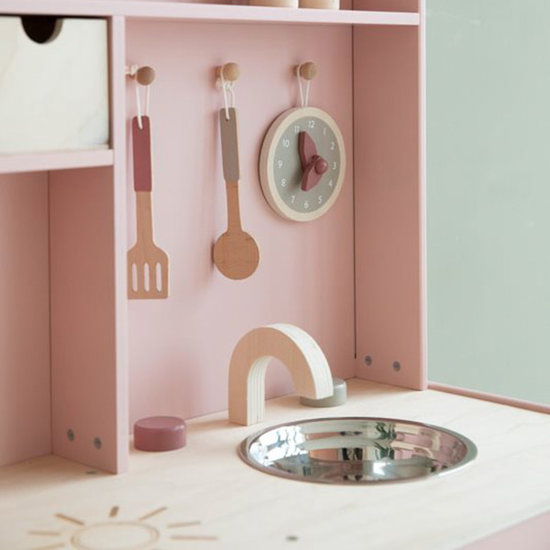 Little Dutch Toy kitchen pink - Little Dutch