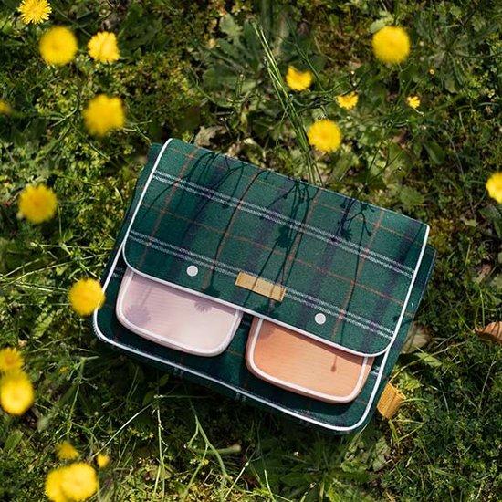 Sticky Lemon Sticky Lemon school bag Wanderer forest green