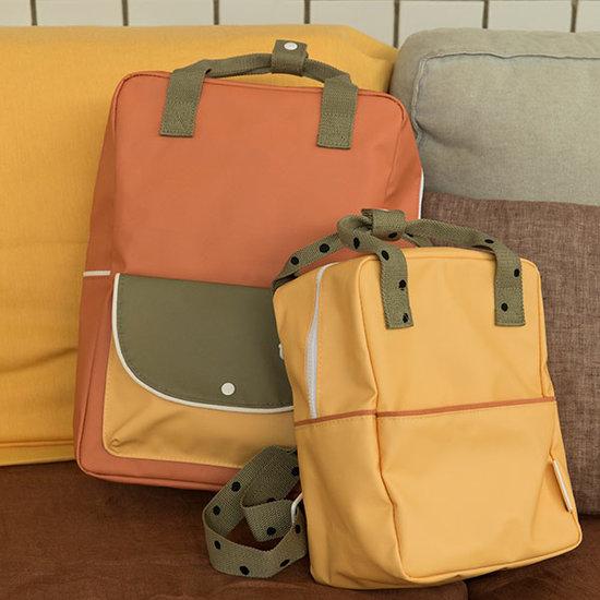 Sticky Lemon Sticky Lemon backpack S Freckles retro yellow