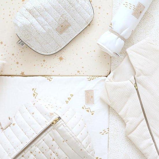 Nobodinoz tipi en accessoires Nobodinoz bedomranding Gold Bubble - White