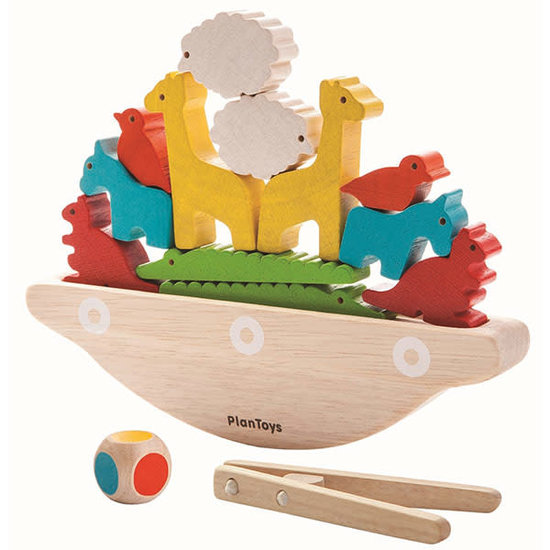 Plan Toys Balancerende boot - Plan Toys +3jr