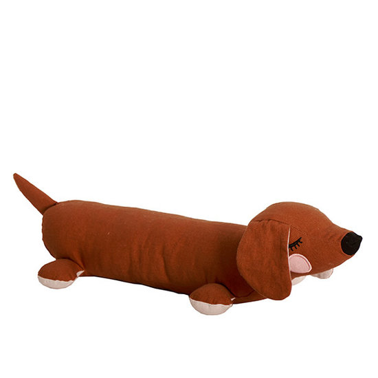 Roommate Soft toy Lazy Puppy brown - Roommate
