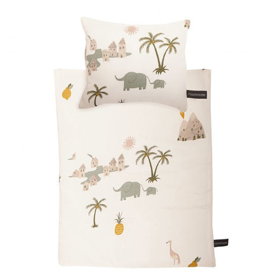 Roommate Poppenbed bedtextiel Tropical - Roommate