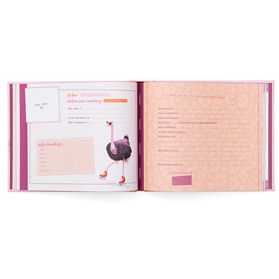 Enfant Terrible Vriendenboekje Ostrich - Enfant Terrible
