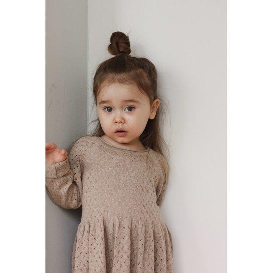 Konges Slojd Konges Sløjd Ballerina dress Brown melange