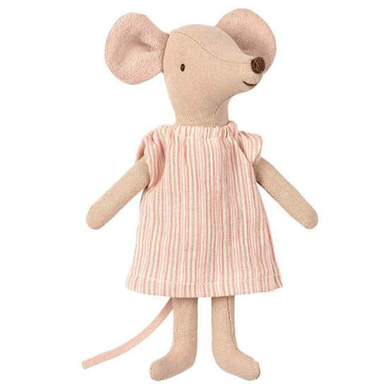Maileg Maileg big sister mouse in nightgown in box