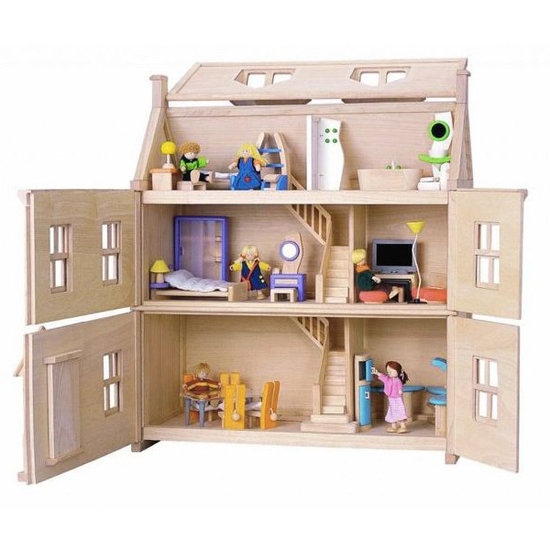 Plan Toys Plan Toys Victoriaans poppenhuis