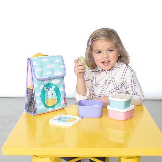 Skip Hop Skip Hop lunch box set of 3 - Unicorn