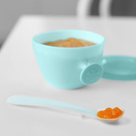 Skip Hop Skip Hop Easy-Feed Löffel Grey-Soft teal