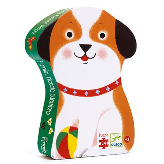 Djeco Djeco puzzel Puppy Firmin 24st