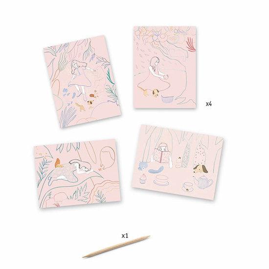 Djeco Djeco scratch cards Picnic +6y