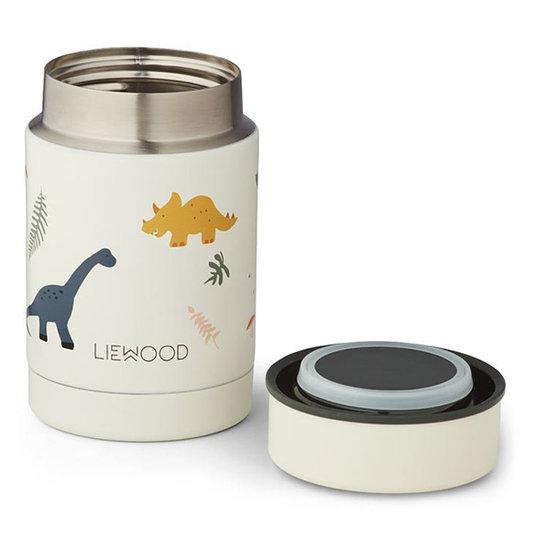 Liewood Liewood Nadja food jar Dino mix