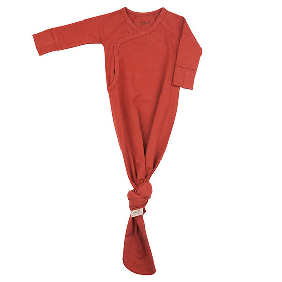 Timboo Timboo Kimono baby gown slaapzak Rosewood 0-3M