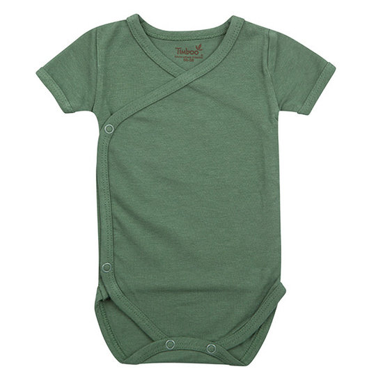 Timboo Barboteuse manches courtes Aspen Green - Timboo