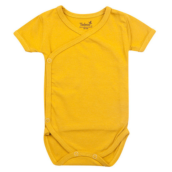 Timboo Barboteuse manches courtes Ocher - Timboo