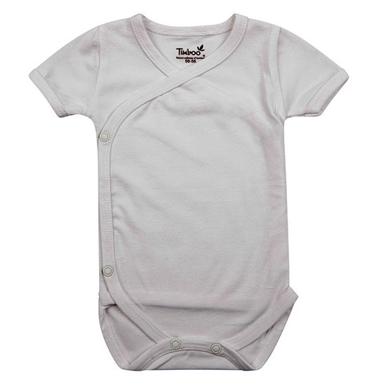 Timboo Barboteuse manches courtes White - Timboo