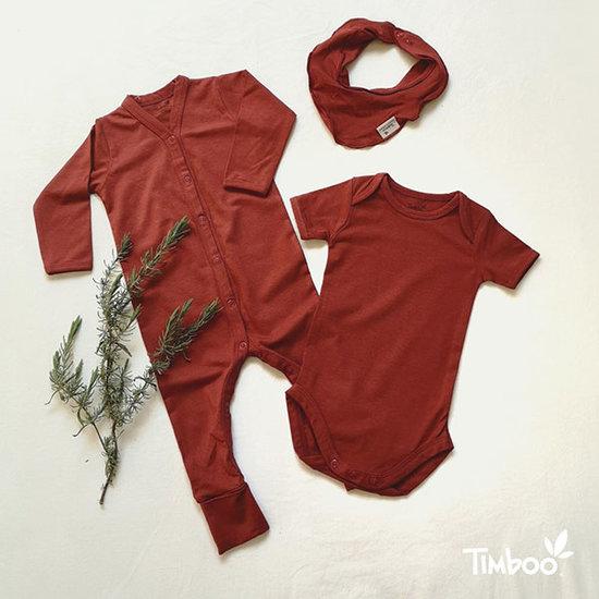Timboo Bandana kwijlsjaaltje Rosewood - Timboo