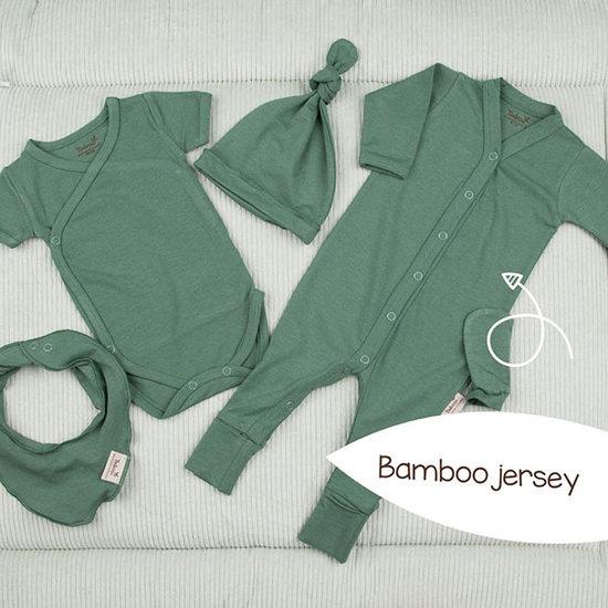 Timboo Barboteuse - Pyjama Aspen Green - Timboo