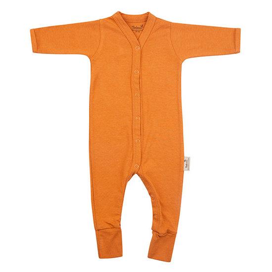 Timboo Barboteuse - Pyjama Inca Rust - Timboo