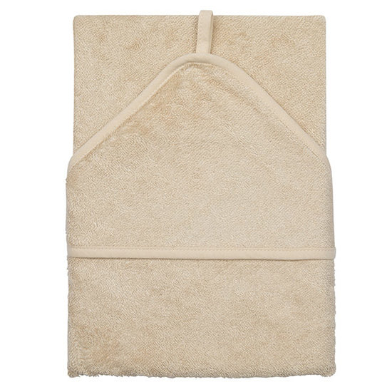 Timboo Bath cape XXL Frosted Almond 95x95cm - Timboo