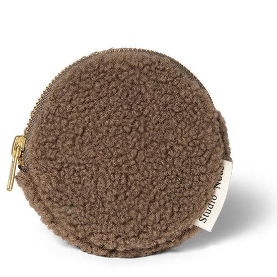 Studio Noos Studio Noos Chunky wallet teddy brown