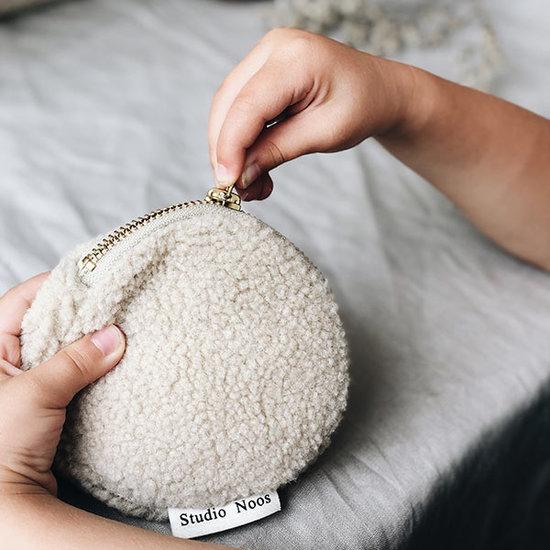 Studio Noos Studio Noos Chunky portemonnee teddy beige