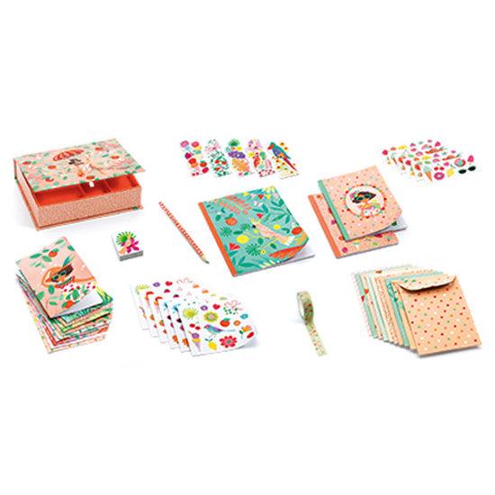 Djeco Djeco papierwaren Marie koffer set