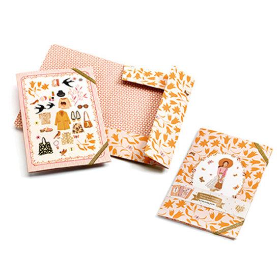 Djeco Djeco elastic folders Tinou A5 - 2pcs
