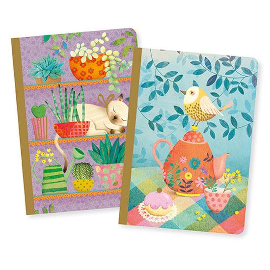 Djeco Djeco notitieboekjes 2 notebooks Marie