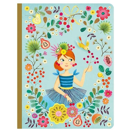 Djeco Djeco schrift notebook Rose A5