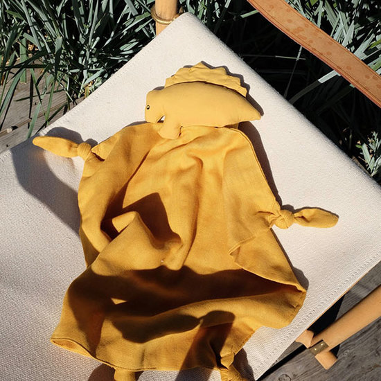 Liewood Schnuffeltuch Dino Yellow mellow - Liewood