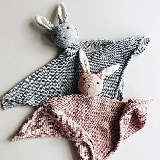 Liewood Knuffeldoekje Milo Rabbit rose - Liewood