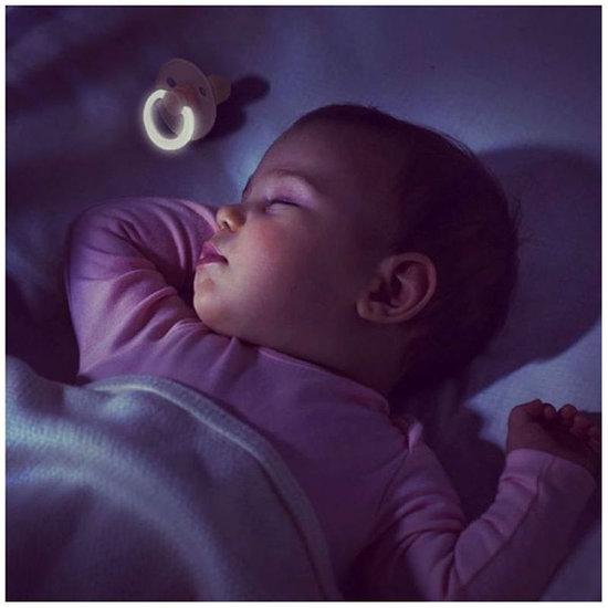 Bibs Fopspeen Glow in the dark Baby Blue - Bibs
