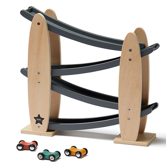 Kid's Concept Wooden race track Kids Concept Grey +2yr