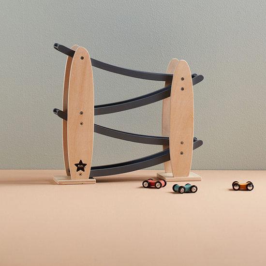 Kid's Concept Kids Concept houten autobaan racebaan grijs +2jr