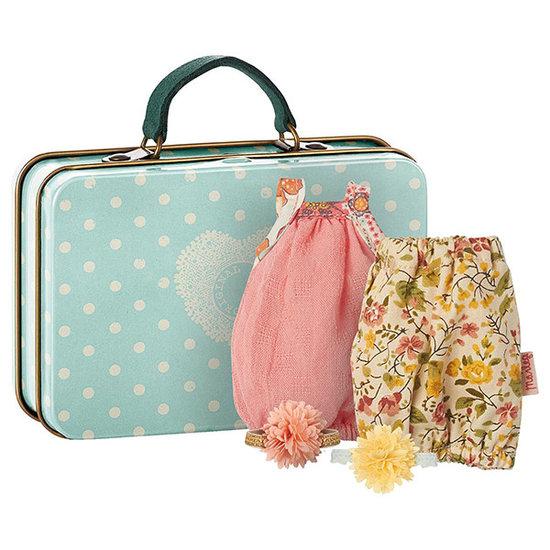Maileg Maileg koffer met 2 jurken Micro