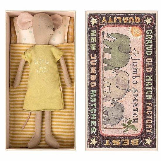 Maileg Maileg Maus in Schachtel Medium 34 cm - Mädchen