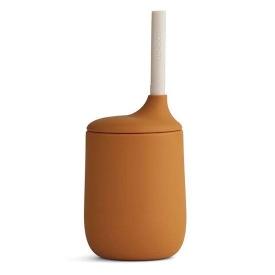 Liewood Liewood Ellis sippy cup Mustard - Sandy mix