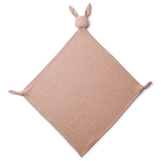 Liewood Knuffeldoekje Robbie Rabbit rose - Liewood