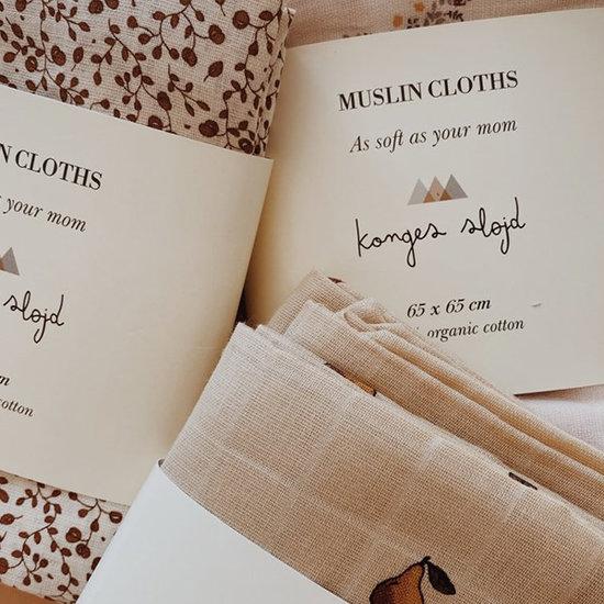 Konges Slojd Mullwindeln Nostalgie Blush 3er Set - Konges Slojd