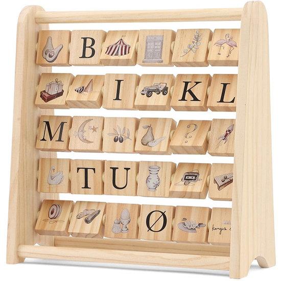 Konges Slojd Konges Slojd houten blokken ABC