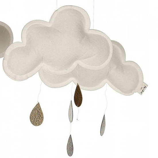 Konges Slojd Konges Slojd Wolke Mobile Snowberry