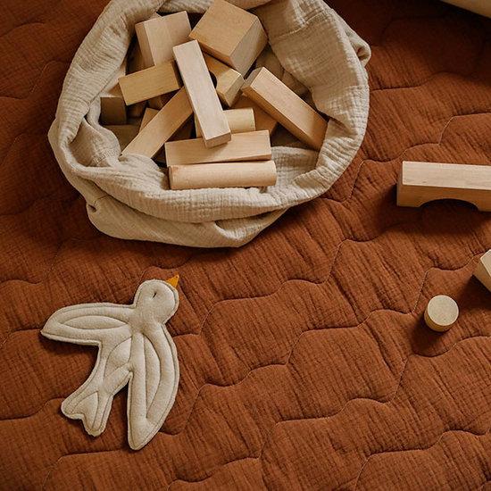 Nanami Nanami play mat Hills brown