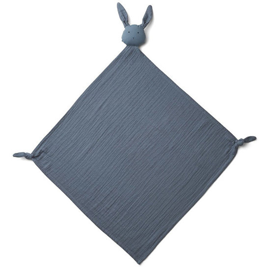 Liewood Knuffeldoekje Robbie Rabbit blue wave - Liewood