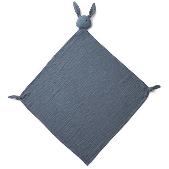 Liewood Schnuffeleltuch Robbie Rabbit blue wave - Liewood