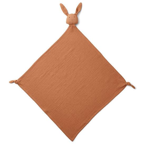 Liewood Knuffeldoekje Robbie Rabbit terracotta - Liewood