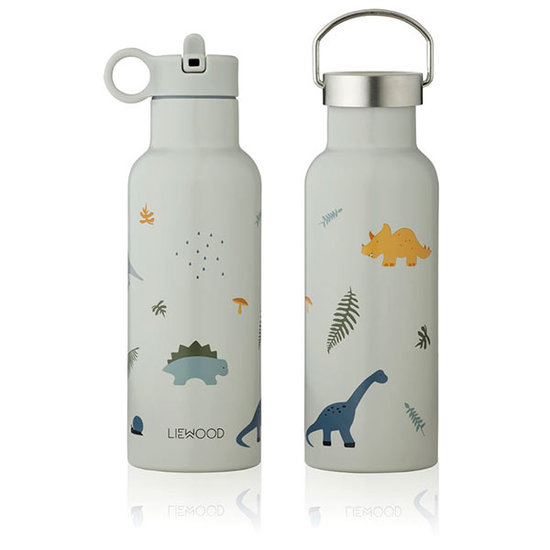 Liewood Liewood Neo thermo drinkfles Dino dove blue mix