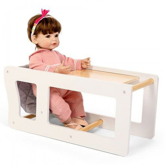 By Astrup High chair 2 in 1 for dolls - By Astrup