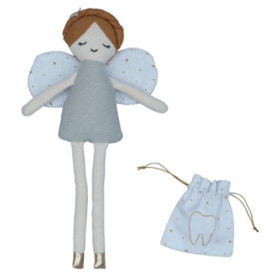 Fabelab Puppe Zahnfee mit Tasche - Fabelab